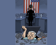 Michel Kichka's caricatures ( Michel Kichka )