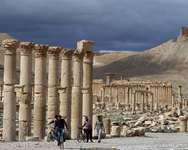 More than 100,000 people live in and around Syria's ancient city of Palmyra, seen here in March 2014 ( Joseph Eid (AFP/File) )