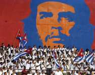 Young Cuban doctors take part in their graduation ceremony on September 19, 2005 in Havana ( Antonio Levi (AFP/File) )
