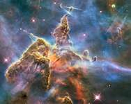 2010: Pillar and Jets in Carina ( NASA, ESA, and M. Livio and the Hubble 20th Anniversary Team )