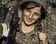 مقاتلات كرديات (kurds) ( موقع فيسبوك )