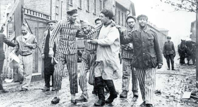 Liberation of Auschwitz by the Red Army on January 26, 1945 ( Yad Vashem )