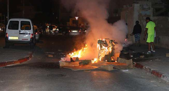 Violences à Jaffa ( Gilad Halpern )