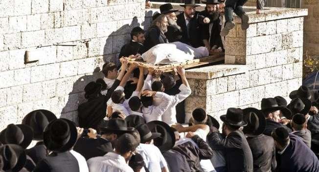 Funérailles du rav (rabbin) Ovadia Yossef, Jérusalem ( AFP )