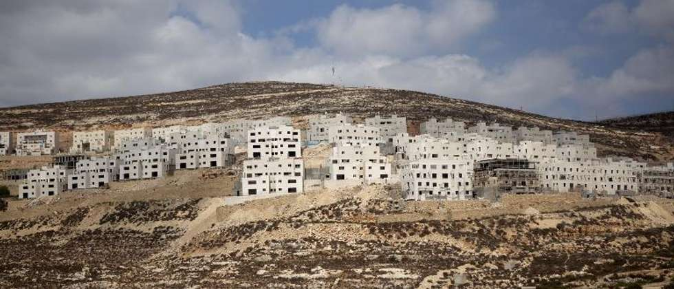 The international community considers all Jewish settlements built on land seized in 1967 -- such as Givat Zeev -- to be illegal (Menahem Kahana (AFP))
