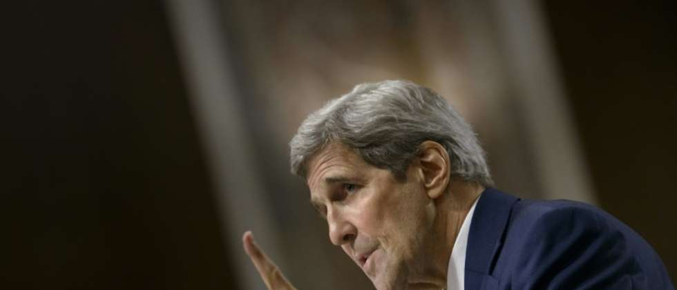 US Secretary of State John Kerry speaks during a hearing of the Senate Foreign Relations Committee on Capitol Hill, July 23, 2015 in Washington, DC (Brendan Smialowsk (AFP))