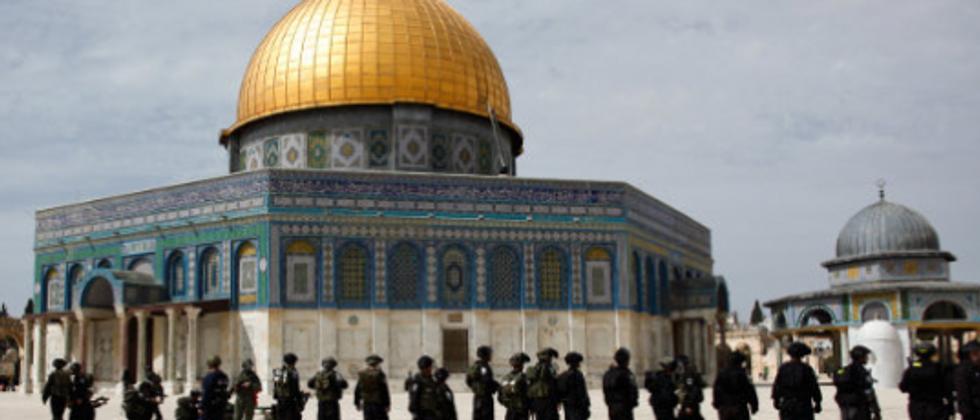 Temple Mount riots, Jerusalem, Israel. November, 2014