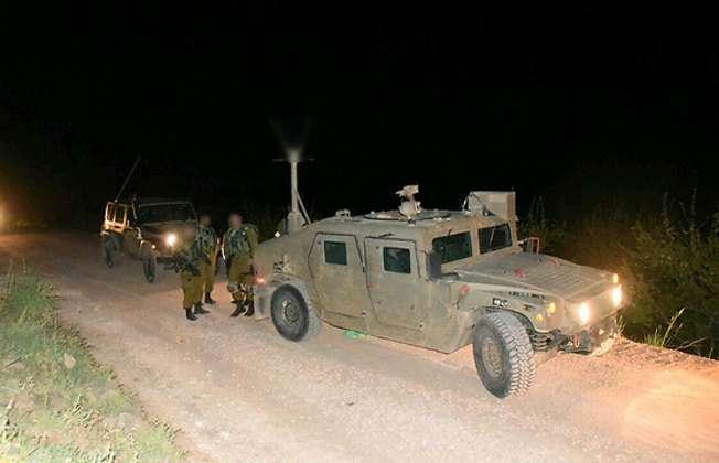 Forces at scene of attack (Ynet/Avihu Shapira)