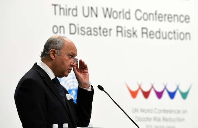 French Foreign Minister Laurent Fabius says the political mood is right for a climate (Toshifumi Kitamura (AFP/File))