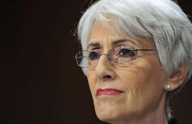 La numéro 2 de la diplomatie américaine, Wendy Sherman le 15 mai 2013 à Washington (Karen Bleier (AFP/Archives))