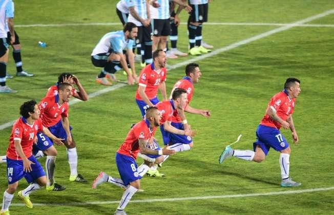 Chile win Copa America (Martin Bernetti (AFP))