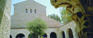 Church of the Multiplication of the Loaves and Fishes at Tabgha (Photo courtesy of Israel Ministry of Tourism)
