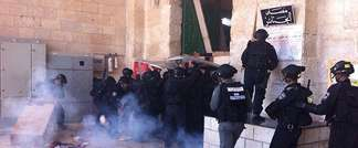 Police forces at Temple Mount (Jerusalem Police)