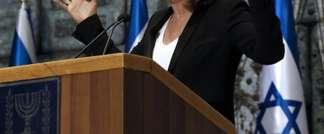 La ministre israélienne de la Justice Tzipi Livni lors d'un discours au palais présidentiel, à Jérusalem, le 2 décembre 2014 (Gali Tibbon (AFP))