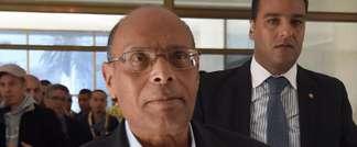 Le président tunisien Moncef Marzouki, le 1er décembre 2014 à Tunis (Fethi Belaïd (AFP))