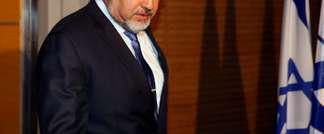 Le ministre des Affaires étrangères israélien Avigdor Lieberman à Jérusalem le 25 novembre 2013 (Gali Tibbon (AFP/Archives))