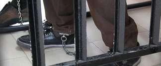 Palestinian prisoner in military court (illustration) (Courtesy: Independent Australian Jewish Voices)