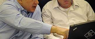 Benjamin Netanyahu with new ambassador to the US, Ron Dermer. (GPO)