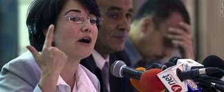 Arab Israeli Knesset member Hanin Zoabi (AFP)