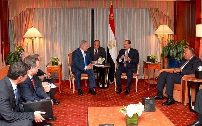 Conflit israélo-palestinien : Nethanyahu et al-Sissi se rencontrent à New York