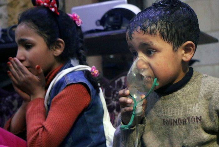 Trump vows quick action in response to suspected chemical attack in Syria