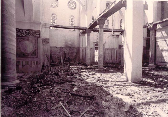 نتيجة بحث الصور عن حريق المسجد الأقصى