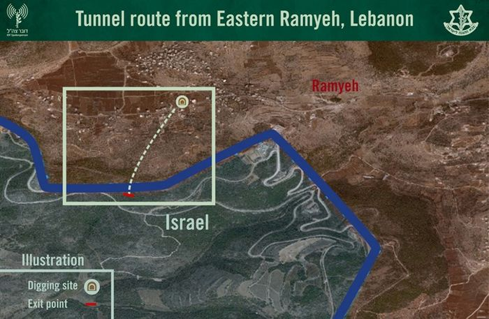 Israel claims Syria air strike, says hunt for Hezbollah tunnels over
