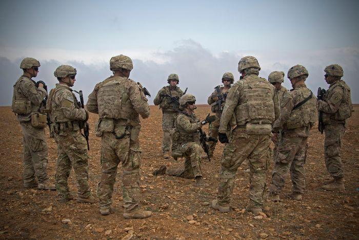 U.S. Army photo by Spc. Zoe Garbarino via AP