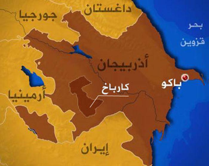 Resultado de imagen de أذربيجان خريطة