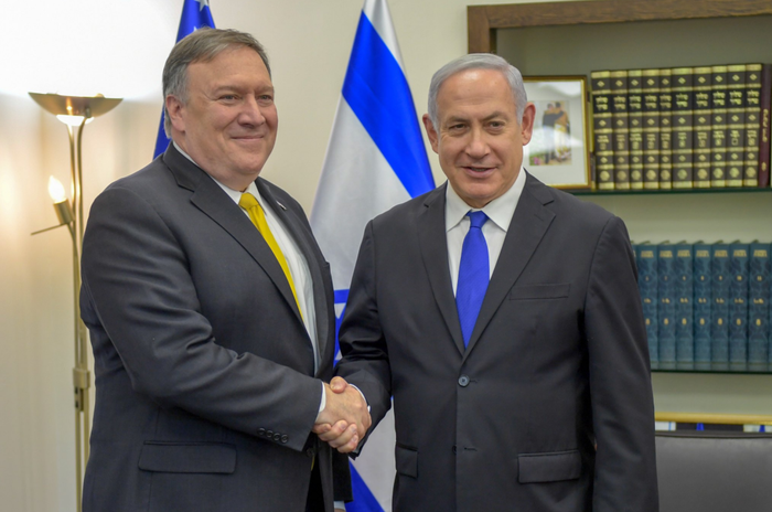 Pompeo takes aim at Iranian missiles ahead of talks with Netanyahu