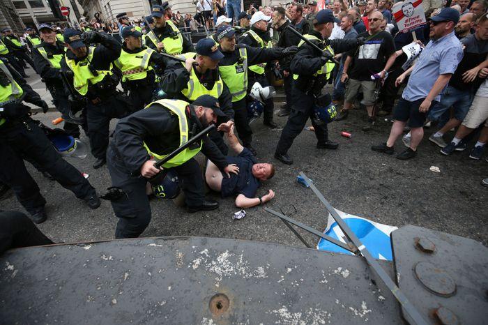 Jonathan Brady/PA via AP