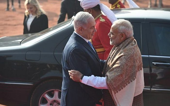 Israeli PM arrives in India on 6-day visit