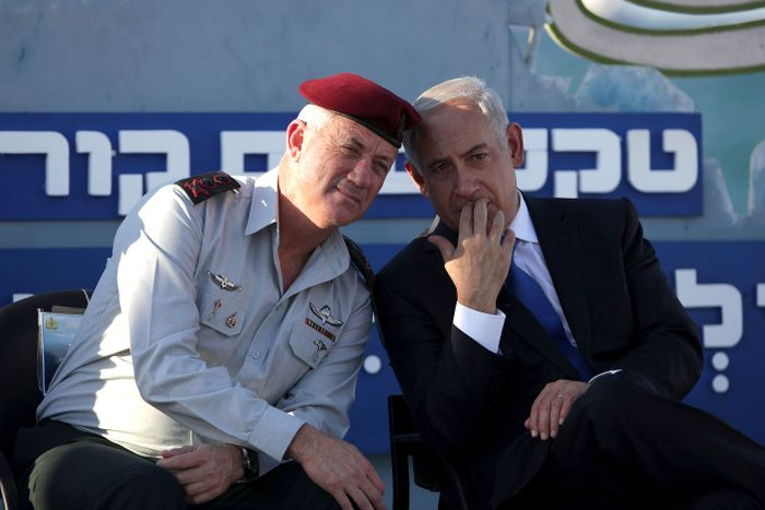 Netanyahu rival speaks of possible West Bank pullback