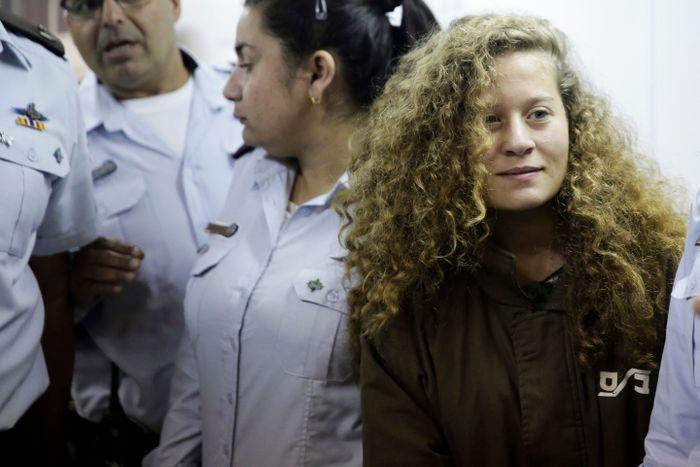 Ahed Tamimi: Israel frees Palestinian viral slap video teen