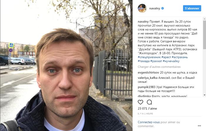 Instagram (@navalny)