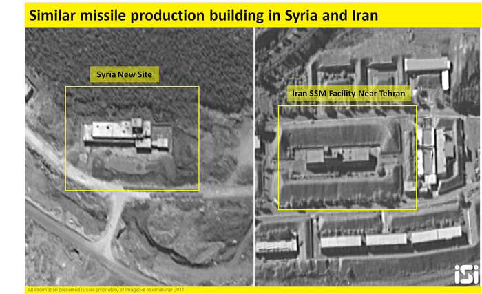 Iran building long-range missile factory in Syria