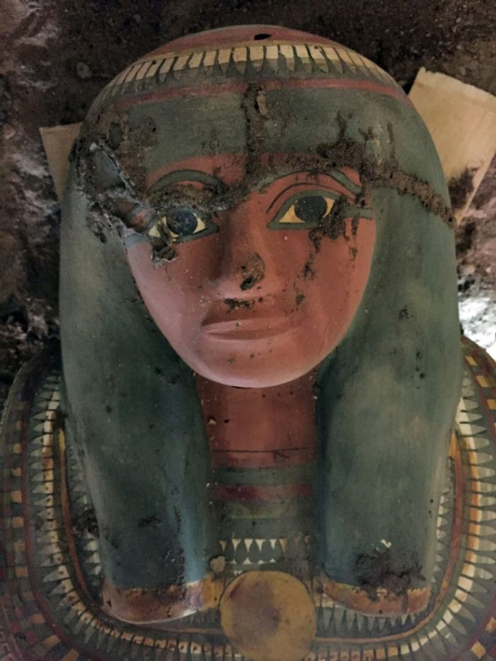 STRINGER (EGYPTIAN ANTIQUITIES MINISTRY/AFP)
