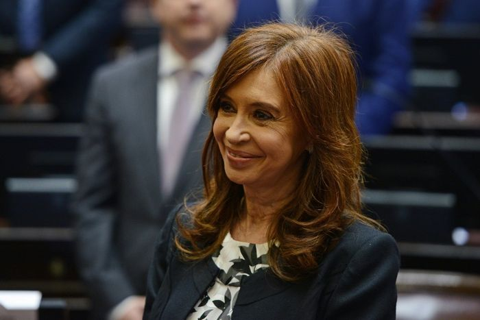 Charly DIAZ AZCUE (ARGENTINA'S SENATE/AFP/File)