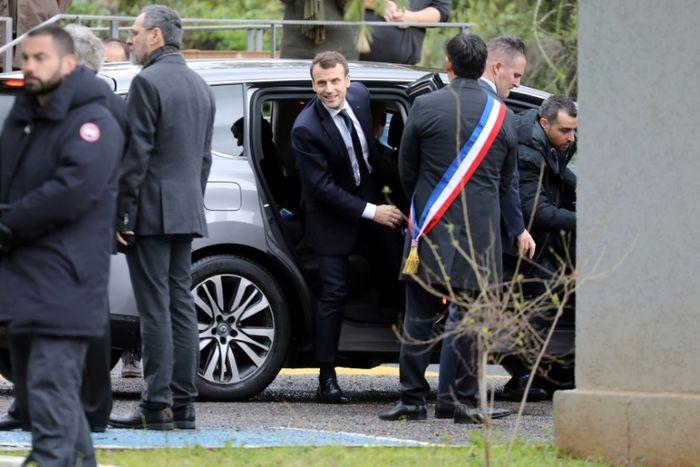 Ludovic MARIN (AFP)