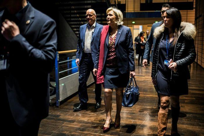 Catherine Griset et Thierry Légier, deux très proches de Marine Le Pen