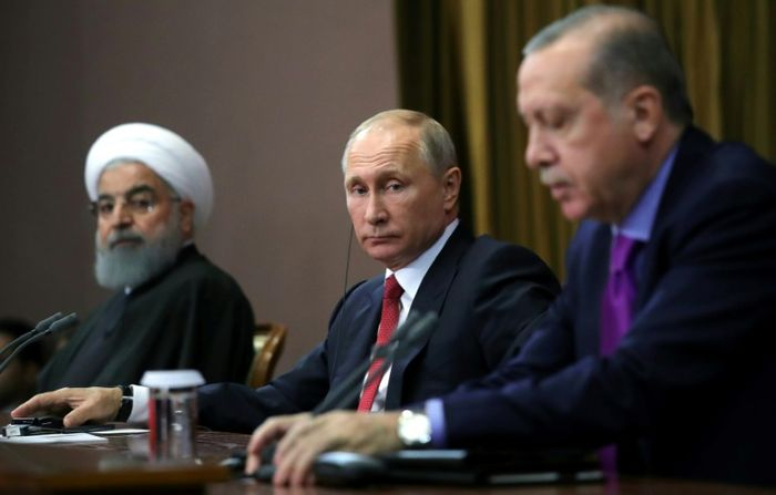 Mikhail KLIMENTYEV (SPUTNIK/AFP)