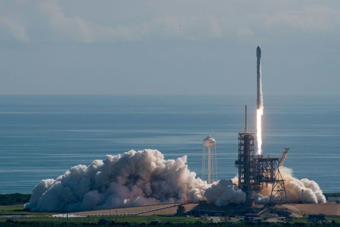 HO (SPACEX/AFP)