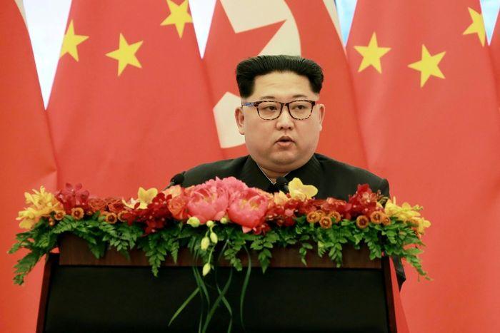 - (وكالة الانباء الكورية الشمالية عن طريق وكالة الانباء الكورية الجنوبية/اف ب)
