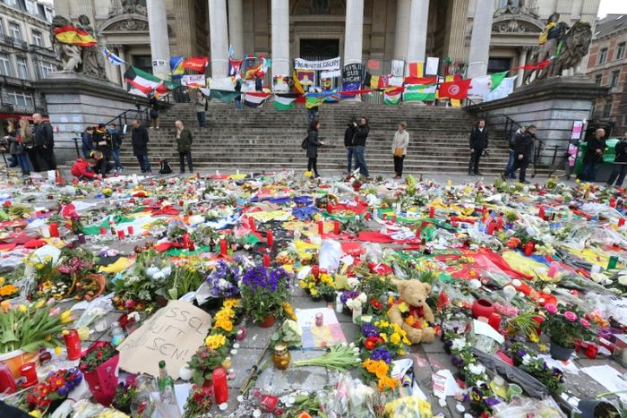 Hommages et commémorations, un an après l'attaque — Attentat de Bruxelles