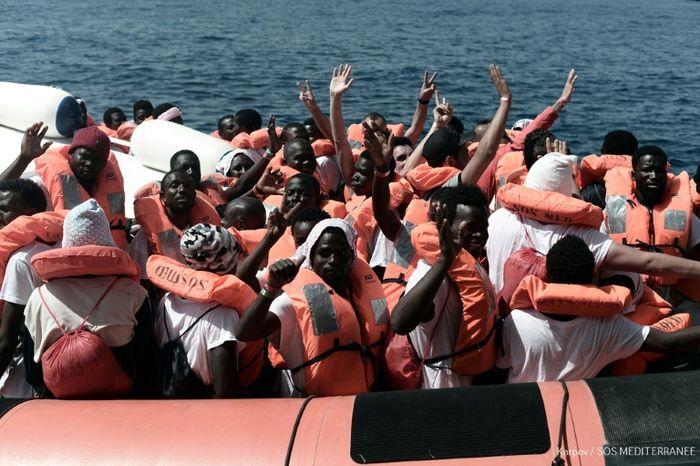 Kenny Karpov (SOS MEDITERRANEE/AFP)