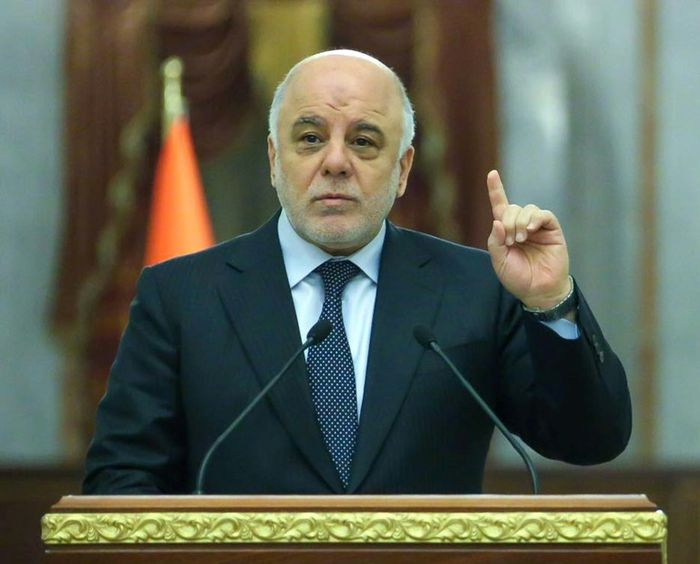 IRAQI PRIME MINISTER'S PRESS OFFICE/AFP
