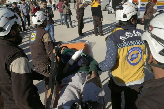 White Helmets evacuated from Syria to Israel