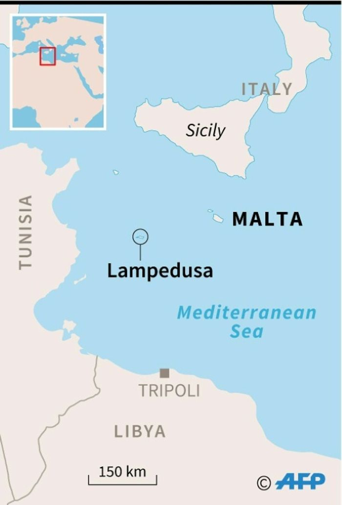 Libya To Italy Map.I24news Italy Threatens To Send Stranded Migrants Back To Libya