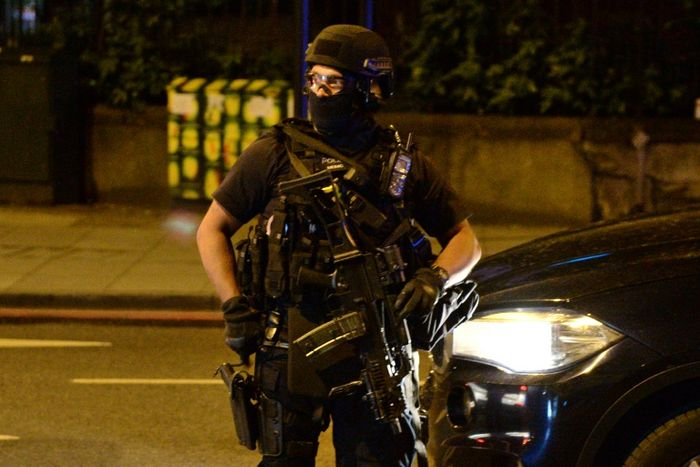 12 arrested in east London as May outlines new terrorism strategy