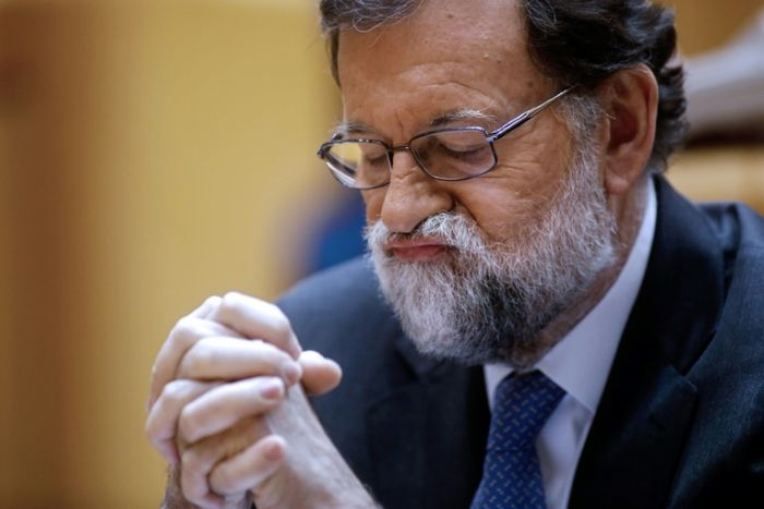 Spain's ousted PM Mariano Rajoy: key dates
